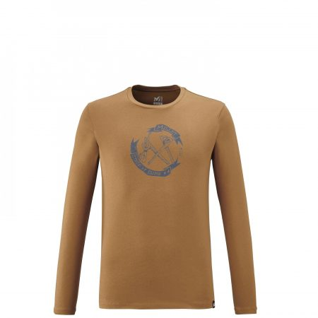 Tee-Shirts Millet Homme | OLD GEAR TS LS M Marron