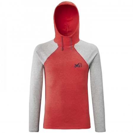 Tee-Shirts Millet Homme   RED WALL LIGHT HOODIE M Rouge