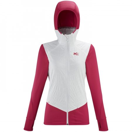 Polaires Millet Femme | EXTREME RUTOR ALPHA COMPO HOODIE W Blanc