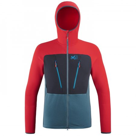 Polaires Millet Homme | TRILOGY ULTIMATE WOOLPOWER HOODIE M Bleu