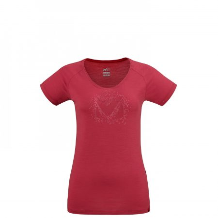 Tee-Shirts Millet Femme   DENSITY TS SS W Rouge