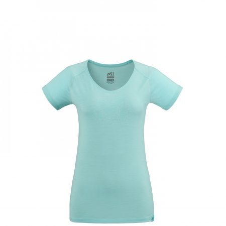 Tee-Shirts Millet Femme   DENSITY TS SS W Turquoise