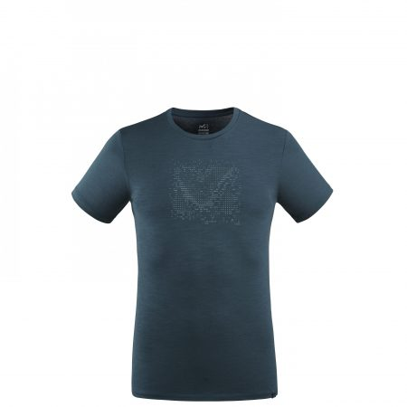 Tee-Shirts Millet Homme | DENSITY WOOL TS SS M Marine