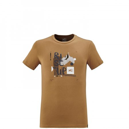 Tee-Shirts Millet Homme | INFLUENCE TS SS Marron