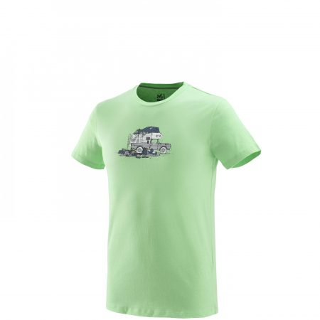 Tee-Shirts Millet Homme | PACK & LOAD TS SS Vert