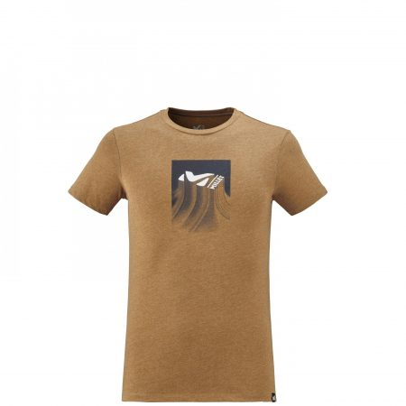 Tee-Shirts Millet Homme | RELIEF TS SS M Marron