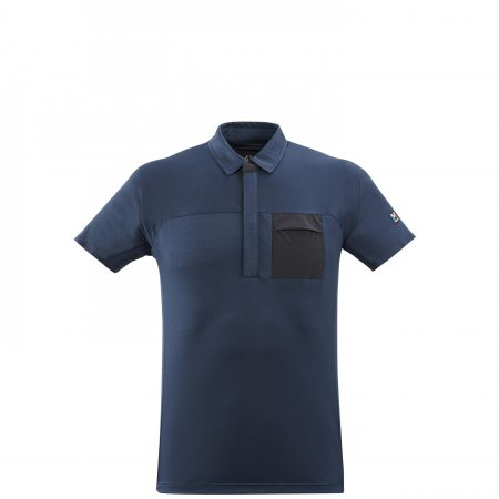 Tee-Shirts Millet Homme | TRILOGY SIGNATURE WOOL POLO M Marine